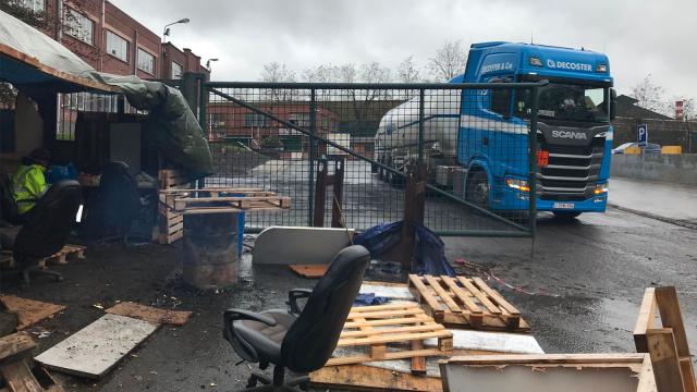 Derniers piquets de grève levés à NLMK Clabecq