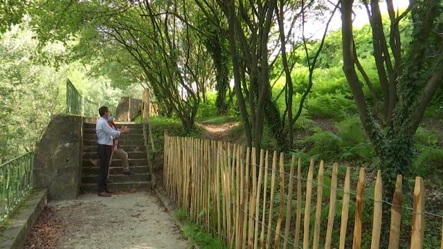 Des barrières efficaces pour protéger la végétation du Domaine Solvay