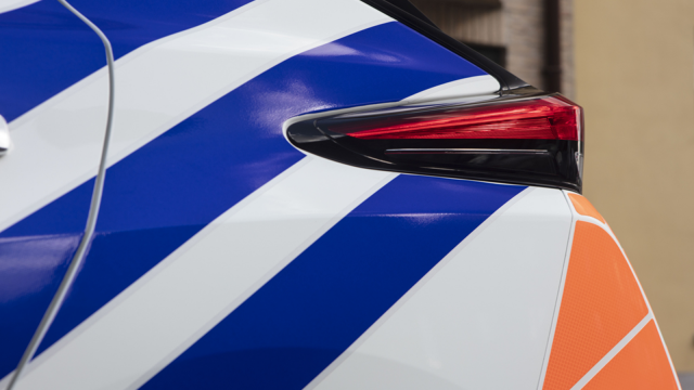 Deux policiers en intervention percutent un poteau à Orp-Jauche