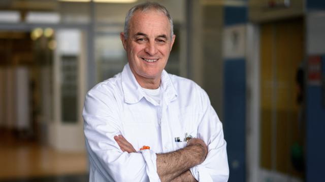 testDidier Pittet, l'un des pères du gel hydroalcoolique, titré docteur Honoris Causa