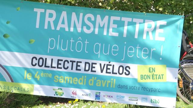 testDonnez une deuxième vie à vos vélos ce samedi dans les recyparcs