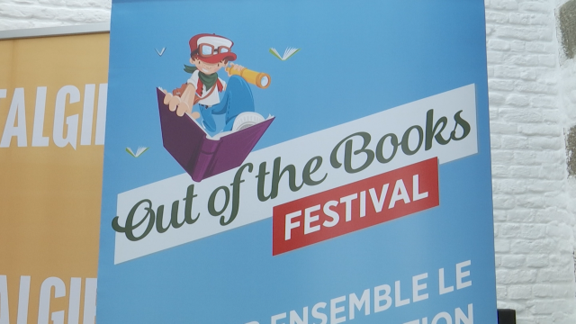 """Enseignement : 3ème édition du festival """"Out of the books"""" à Waterloo"""