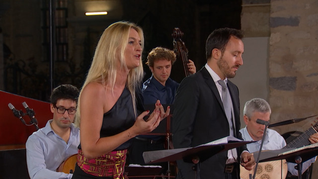 testFestival Musiq'3 Brabant Wallon - C.Scheen, D.Guillon & le Banquet Céleste - Pergolèse / Vivaldi : Stabat Mater partie 1