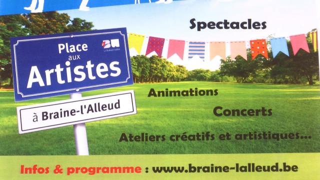 Feu d'artifice d'artistes cet été à Braine-l'Alleud !