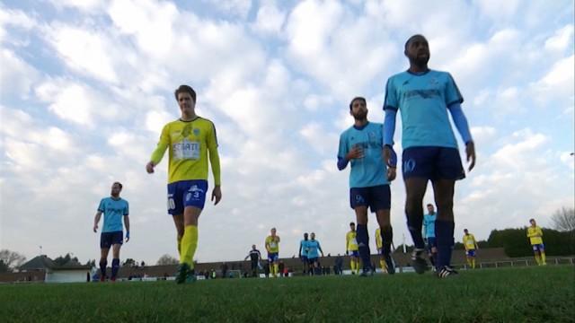 testLe RCS Brainois bat Villers-la-Ville pour le premier match de Fabrice Silvagni