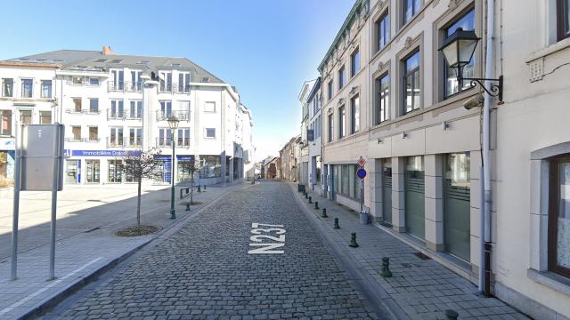 Genappe : la rue de Ways fermée en raison d'un bâtiment instable