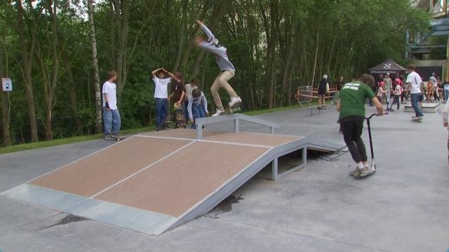 Genappe : Inauguration du nouveau skatepark