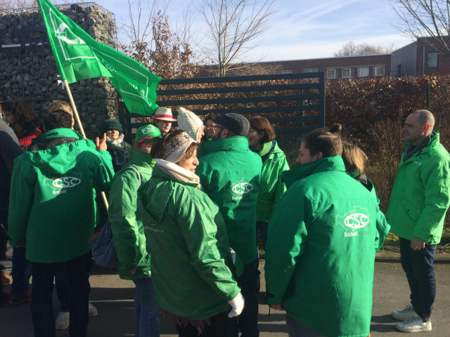 Grève nationale du 13 février : le point sur la situation en BW