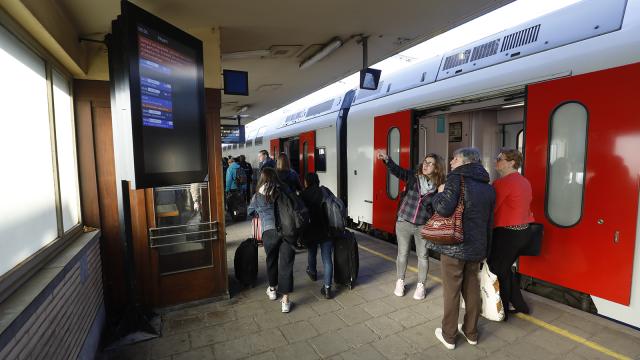 testGros embarras sur le trafic ferroviaire entre Ottignies et Bruxelles