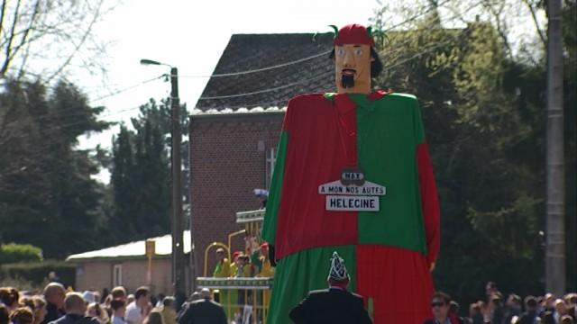 Hélécine : le seul carnaval rhénan en Brabant wallon