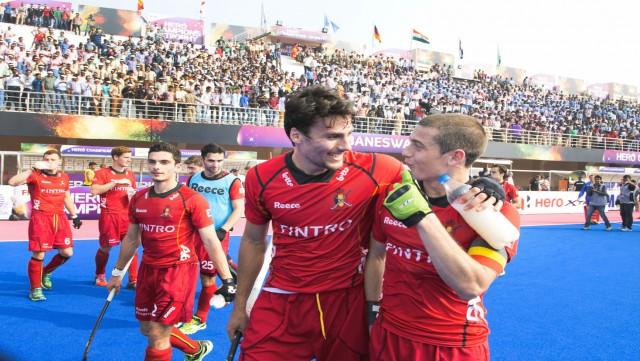Hockey : Belgique - Argentine à Uccle