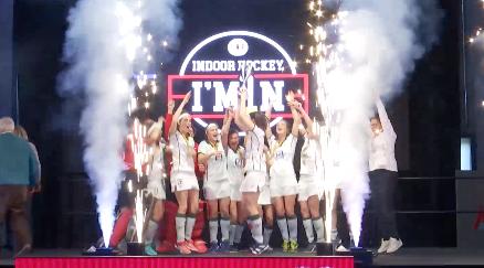 Hockey en salle : les dames du Watdu deviennent championnes !
