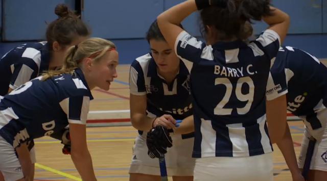 Hockey en salle : Louvain-la-neuve en profite pour se maintenir en forme !