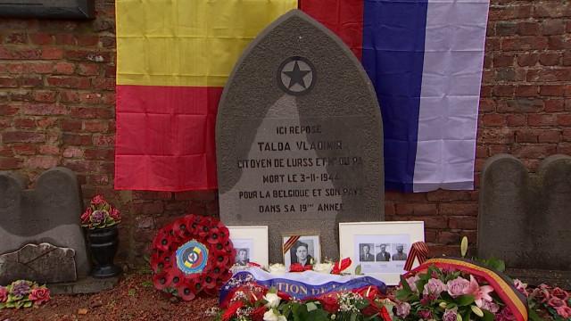 testHommage aux partisans russes ayant combattu à Rebecq