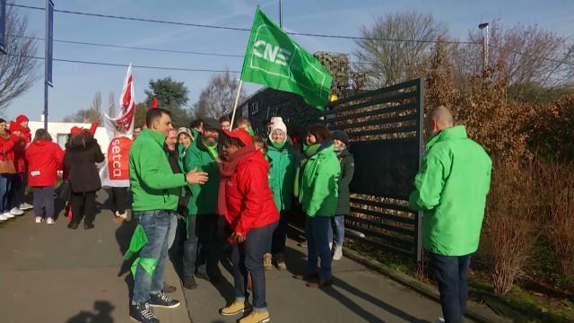 Hôpital en service réduit, centre commercial vide : la grève bien suivie à Nivelles
