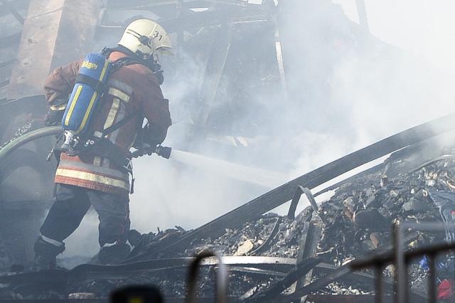 Incendie à Lillois : le plan communal d'urgence a été déclenché