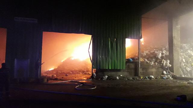 Incendie sous contrôle à l'incinérateur de Virginal