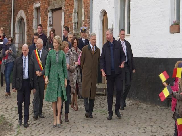 Incourt : visite royale au Verger de la Chise