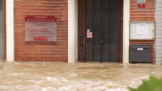 Inondations à Wavre : pas de victimes mais des dégâts considérables