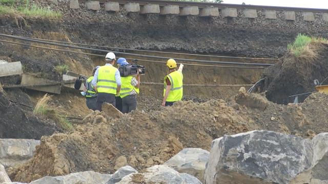 Inondations : Infrabel procède à des chantiers de réparation titanesques à Mont-Saint-Guibert