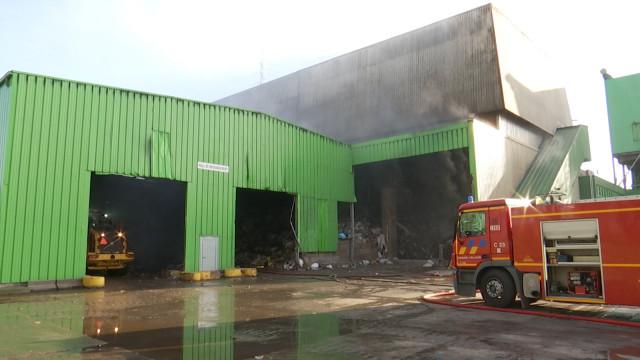 Ittre : Dégâts limités suite à l'incendie de l'incinérateur