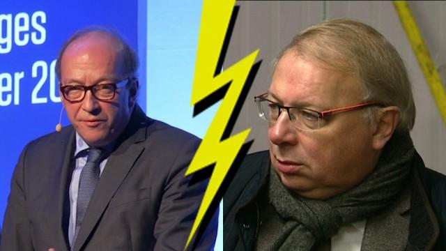 Jean-Paul Wahl vs André Antoine : coup pour coup