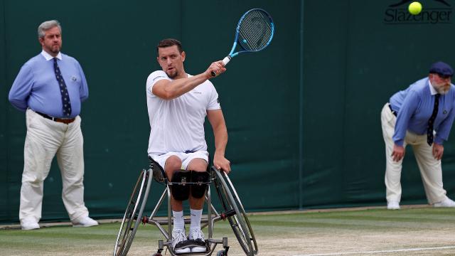 Joachim Gérard vainqueur à Wimbledon : 2e titre du Grand Chelem en poche