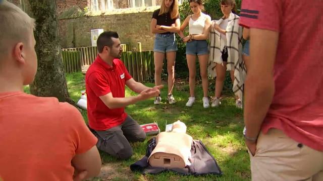 testJodoigne: 15 jeunes se forment aux gestes qui sauvent