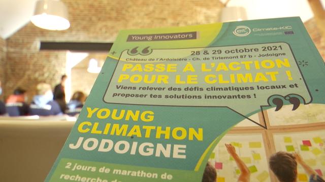 Jodoigne : le Young Climathon ou l'intelligence collective des jeunes