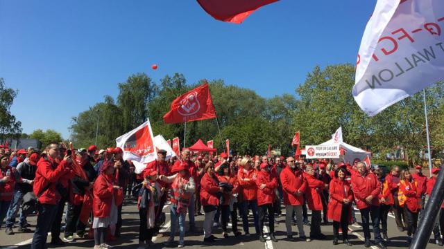 Journée d'action de la FGTB : près de 4000 syndicalistes rassemblés à Wavre