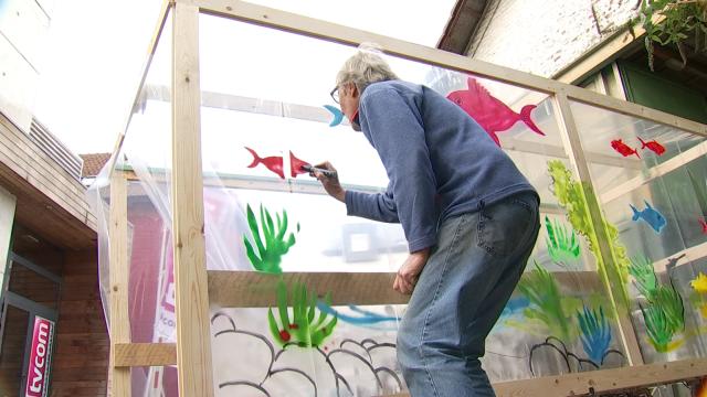 L'aquarium des Débrouillards pour les 24 Heures Vélo de LLN