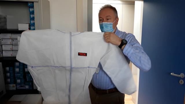 L'hôpital de Nivelles a besoin de 500 masques chaque jour. Appel au dons!