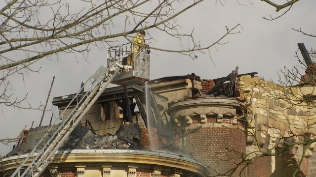 L'incendie a causé d'importants dégâts au Château de Dongelberg