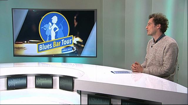 L'invité : Nicolas Fissette - Directeur du Rideau Rouge et organisateur du Blues Bar Tour