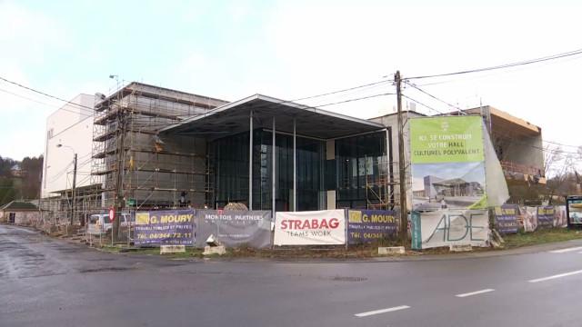 testL'ouverture du nouveau hall culturel à Wavre c'est pour bientôt !