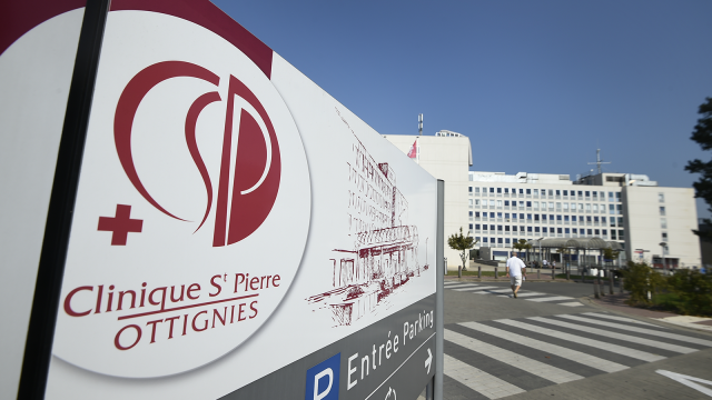 """La Clinique Saint-Pierre sur le qui-vive : """"On est dans une phase ascendante"""""""