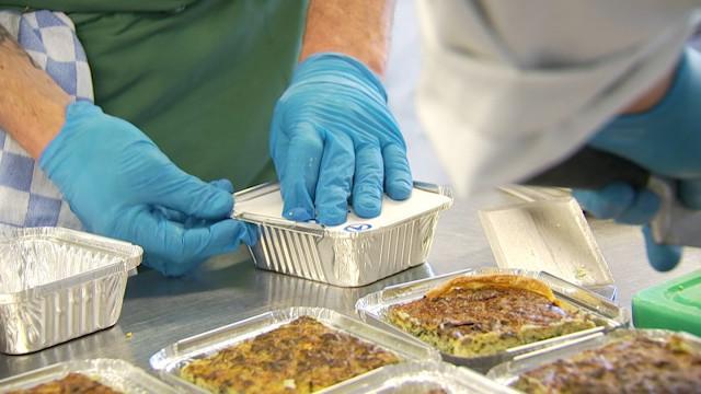 La Ferme de Froidmont offre 540 repas à la clinique Saint Pierre d'Ottignies