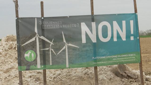 La majorité communale de Rebecq dit non au projet éolien d'Engie