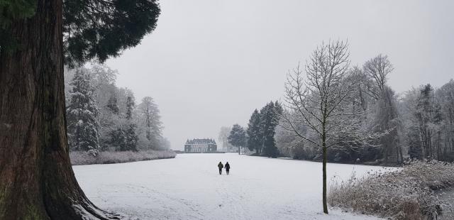 Nos plus belles photos du Brabant wallon sous la neige !