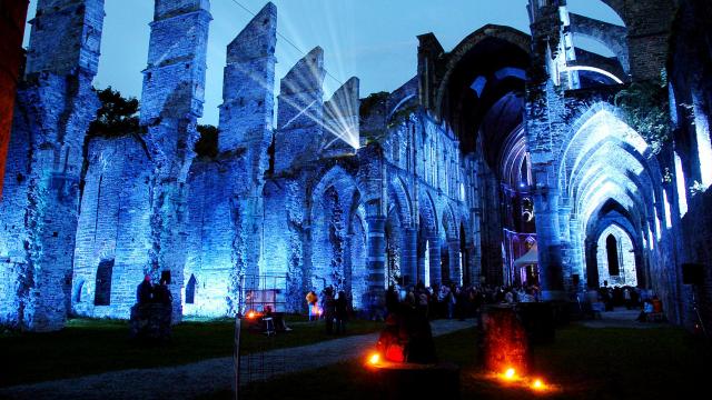 La Nuit des Choeurs reportée en 2022 à l'Abbaye de Villers, un autre spectacle annoncé cet été