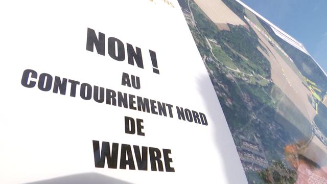 La plateforme CNW dépose un recours contre le contournement Nord de Wavre