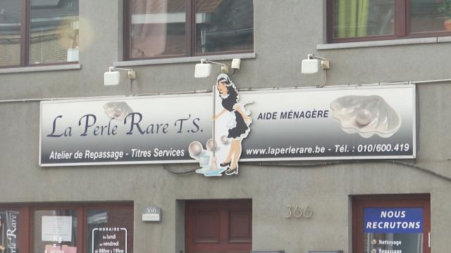 La société de titres-services La Perle Rare est en faillite