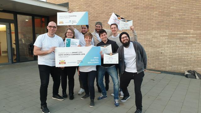 testLa Ville de Wavre vainqueuse du Hackathon Citizens of Wallonia