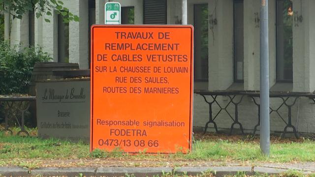 Lasne : circulation à sens unique dans la route des Marnières et la rue des Saules