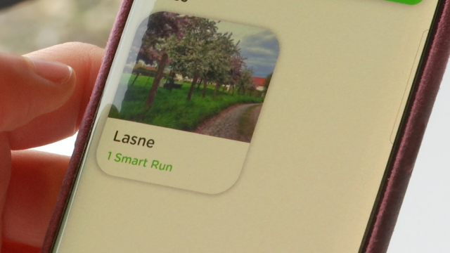 Lasne rejoint l'application Runnin'City !