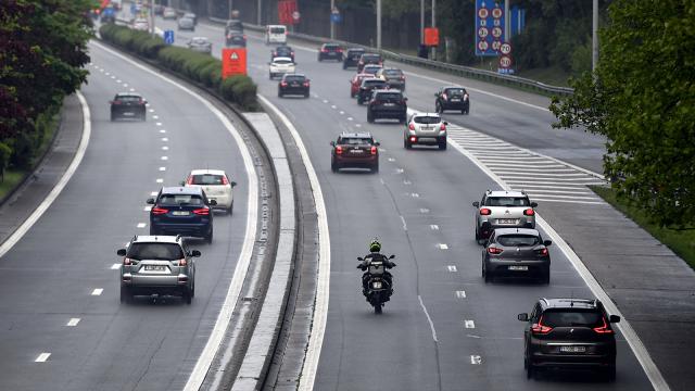 Le Brabant wallon, meilleur élève de la route pour le 1er semestre 2019