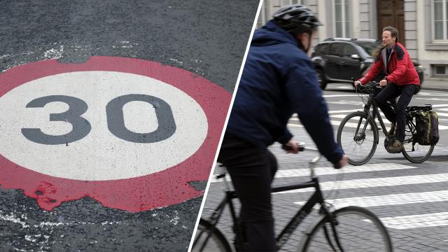 Le centre-ville de Wavre en zone 30 : place aux vélos !