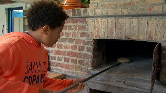 Le four à pain de Louvain-la-Neuve a été rénové