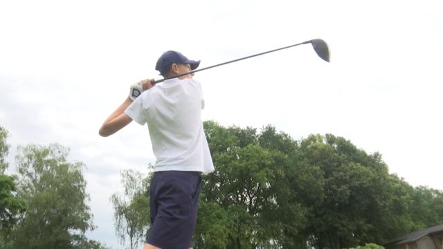 Le jeune prodige Hugo Duquaine se frotte à l'élite du golf international à Waterloo