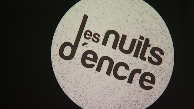 Le livre en action aux nuits d'encre